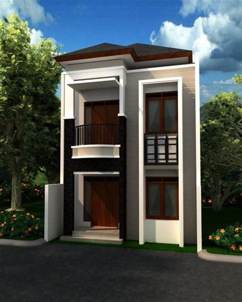 rumah minimalis 2 lantai mungil sederhana