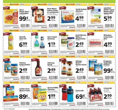 free printable grocery coupons safeway safeway coupons