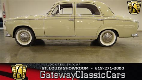 peugeot cars old models 1960 peugeot 403 gateway classic cars st louis 6304