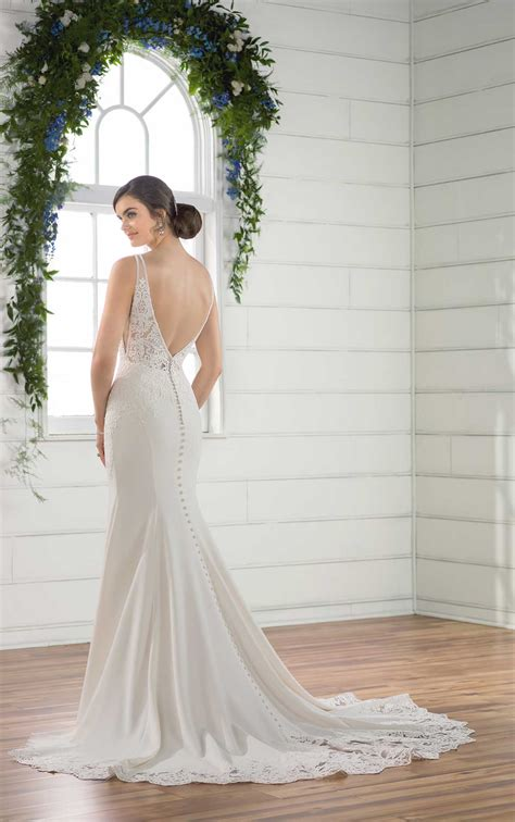 simple  sexy wedding dress essense  australia