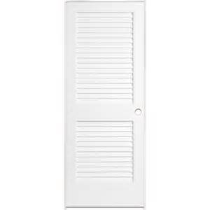 Model Homes Interior Shop Reliabilt White Plantation Louver Pine Single Prehung