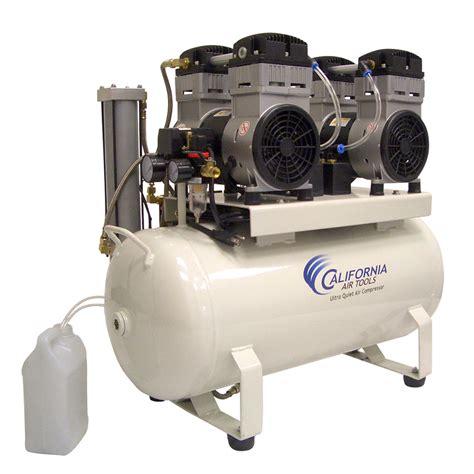 california air tools 1740d ultra free 4 0 hp 17 0 gal steel tank air compressor w