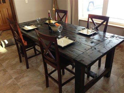 Farm Dining Room Table Diy Farm Table Plans Easy To Build Diy Projects