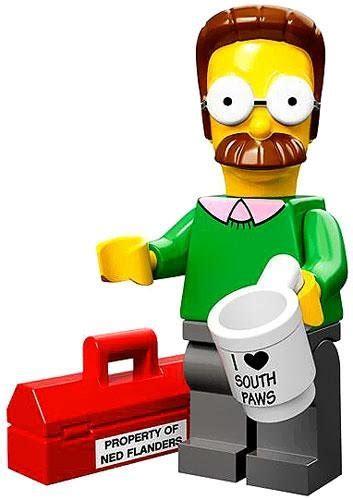 Lego Set Minifiigures Simpsons Series 2 16pcs Character Complete lego simpsons box