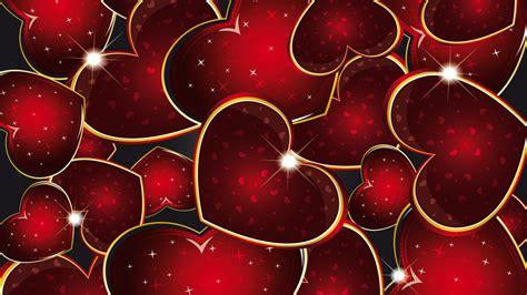 imagenes en full hd de amor corazones rojos full hd en fondos 1080