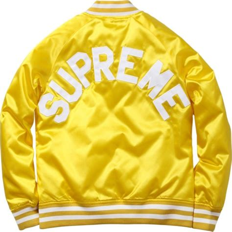 Jaket Sweater Hoodie Supreme Ch supreme x chion satin jacket available now freshness mag