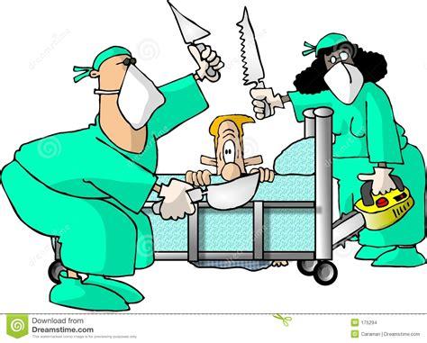 clipart divertenti chirurgo illustrazione di stock immagine di gallone