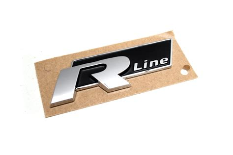 Vw R Line Aufkleber by Vw R Line Schriftzug Aufkleber Plakette Golf Passat