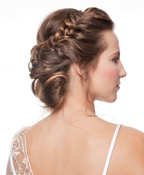 mejores peinados de noche para fiestas elegantes recogidos para una boda de noche