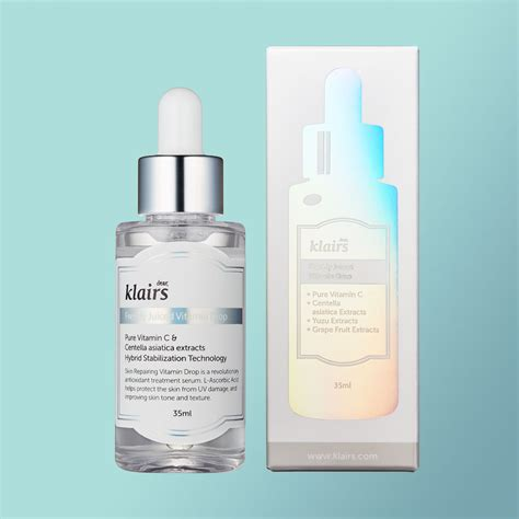 Ascorbic Acid Shelf by The Review Klairs Freshly Juiced Drop Vitamin C Serum