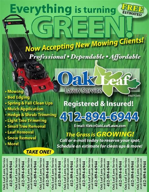 landscaping advertising ideas lawn service advertising ideas