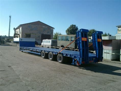 Semi Truck Mattress For Sale by Varz 3811 Low Bed Semi Trailers For Sale Low Loader