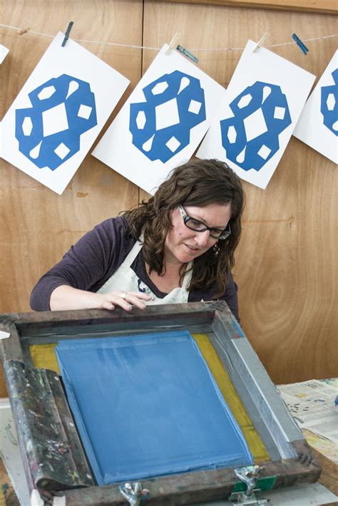 Learn To Earn From Printmaking lillstreet 187 want to learn to make screenprinted designs on paper