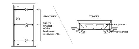 How To Measure For New Door by How To Measure Pella Doors