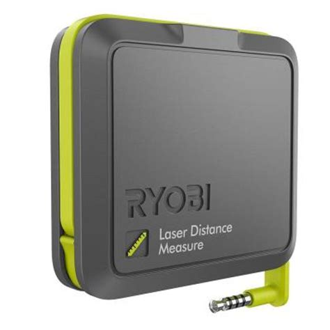 ryobi phone works laser distance measurer es1000 the