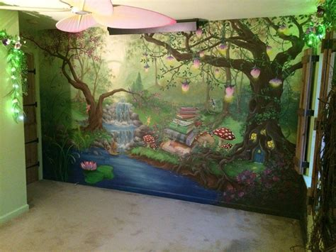enchanted forest bedroom enchanted forest bedroom mural during the day