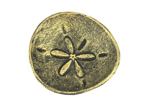 decorative sand buy antique gold cast iron sand dollar decorative plate 6 inch wholesa