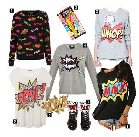 Sweater Comic Pop diy ka pow sequin sweater 187 operation overhaul