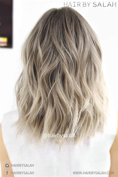 can you balayage shoulder length hair 25 best ideas about ash blonde balayage on pinterest