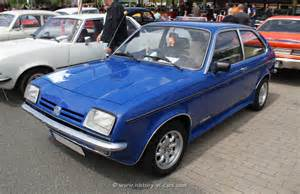 Opel Chevette Opel 1980 Chevette 2door Hatchback The History Of Cars