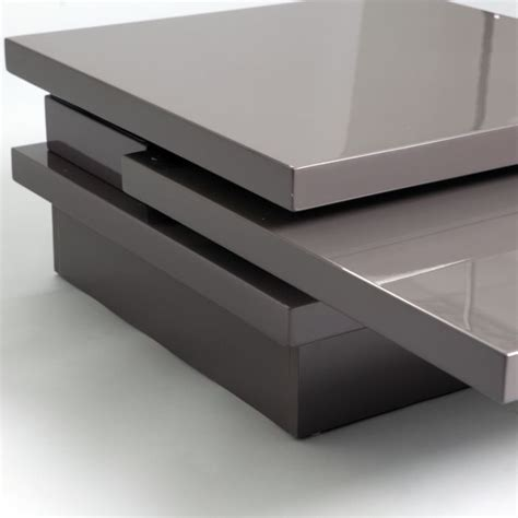 color coffee table keena swivel tops coffee table in grey color coffee