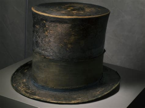 paddle8 the hat that abraham lincoln wore the he