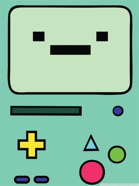 adventure time beemo  hd desktop wallpaper  wide