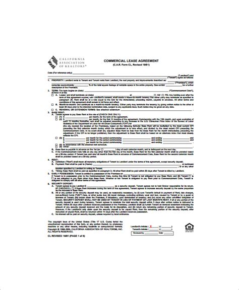 Commercial Lease Termination Agreement by Sle Lease Termination Agreement Free Documents In Word Pdf