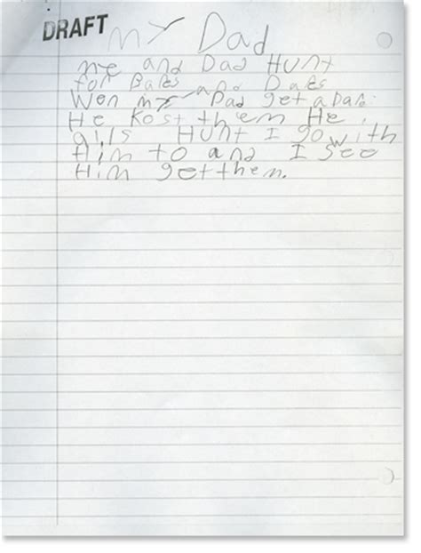 3rd Grade Essay Format by Third Grade Writing Sle 1 Reading Rockets
