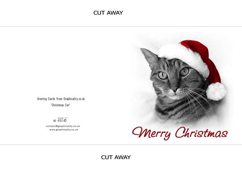 printable christmas cards cats h u taylor greeting cards