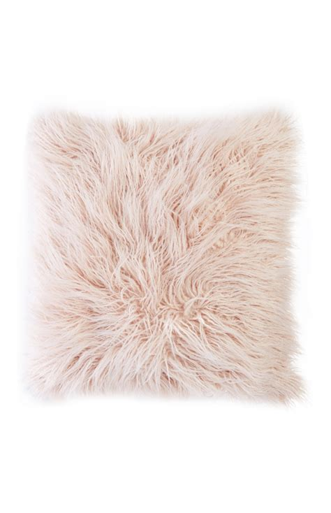 Fluffy Pink Pillow by Primark Products
