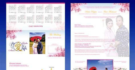desain kartu undangan modern desain cetak kartu undangan calendar wedding card