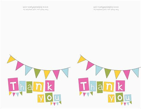 free thank you card template from students 5 thank you template ganttchart template