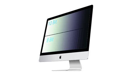 10 bit color 10 bit color support discovered in apple 4k 5k retina imac