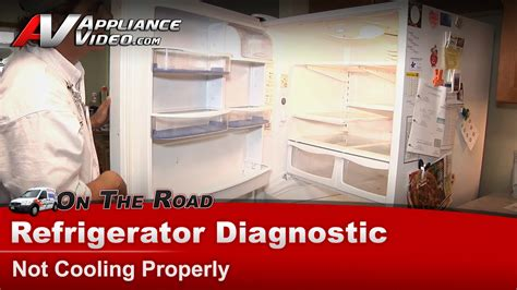 amana arblw refrigerator diagnostic  cooling
