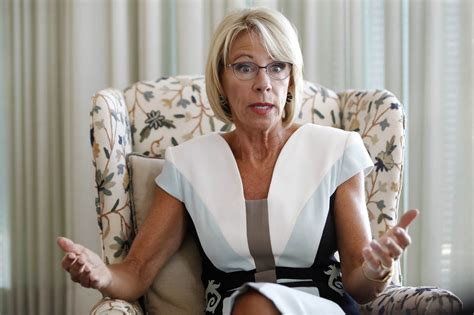 betsy devos latest betsy devos says she didn t decry racism enough nbc news