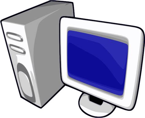 clipart pc network pc clip at clker vector clip