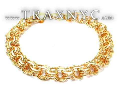 14k yellow gold charm bracelets gold mens bracelet yellow