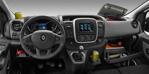 renault van interior all new renault trafic is bold and practical business vans