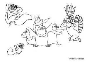 madagascar coloring pages king julien coloring