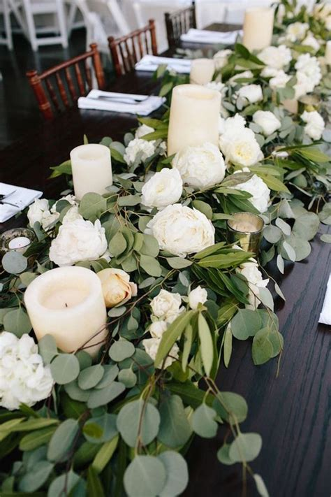 outdoor wedding centerpiece ideas best 25 green centerpieces ideas on greenery centerpiece greenery for bouquets and