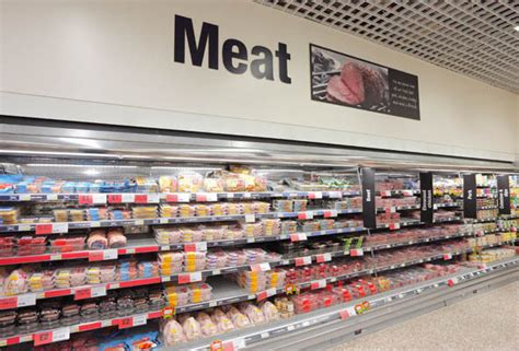 supermarket meat section co op claims to be first uk retailer to switch to only