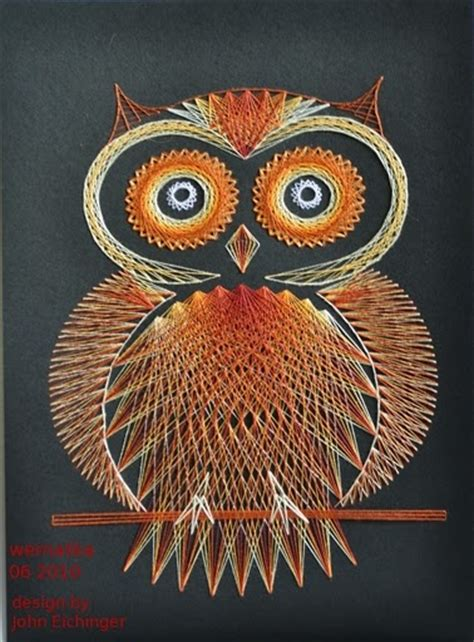 Owl String Pattern - patterns sons and string on