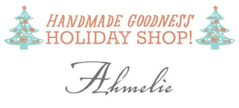 handmade shop ahmelie oh my handmade