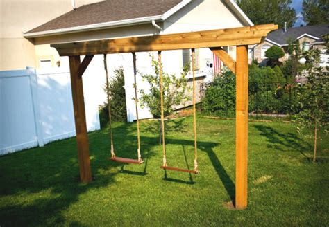 build own swing set swing sets how to build a backyard swing 2017 design