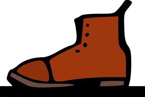 cartoon boat brown old brown boot 183 free vector graphic on pixabay