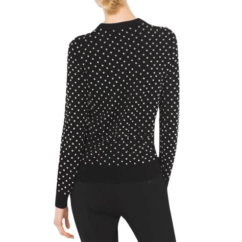 Studded Sweater 30 michael kors collection studded