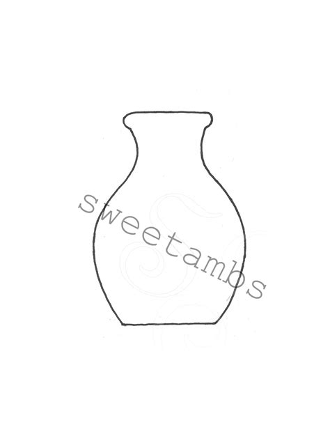 Vase Template by Vase Cookiessweetambs