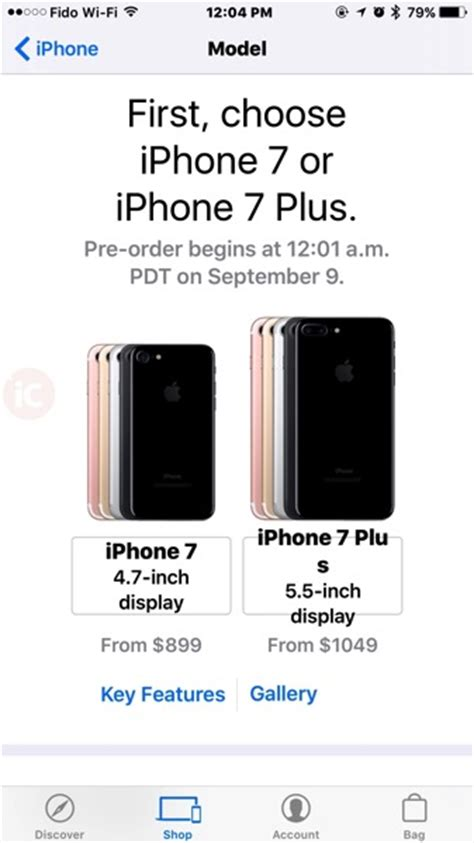 unlocked iphone 7 iphone 7 plus canadian pricing starts at 899 iphone in canada