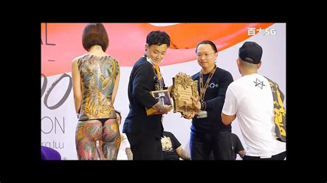 quebec tattoo convention 2016 2016 taiwan tattoo convention第七屆 國際刺青展 傳統背部彩色大圖 冠軍 1 youtube